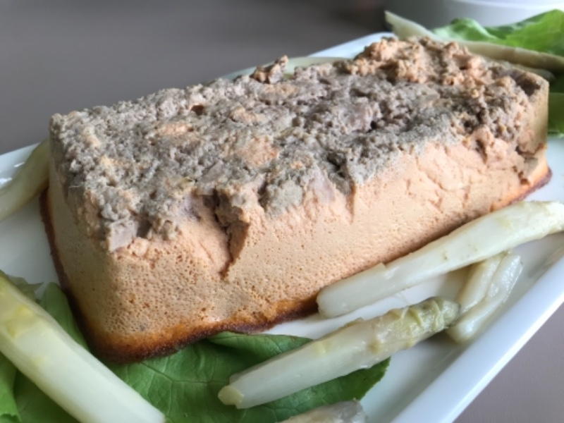 Pain de thon au surimi sans gluten