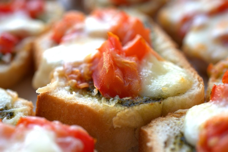 Bruschetta au pesto