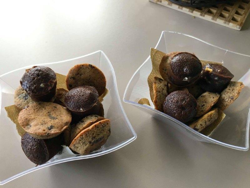Assortiment de moelleux au chocolat et cookies