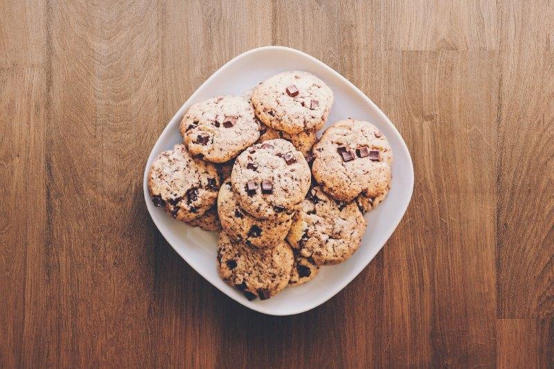 Cookies au chocolat noir fait maison